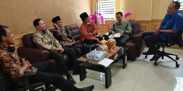 Pengurus STAI SNI Temui Wakil Ketua DPRD Kota Solok