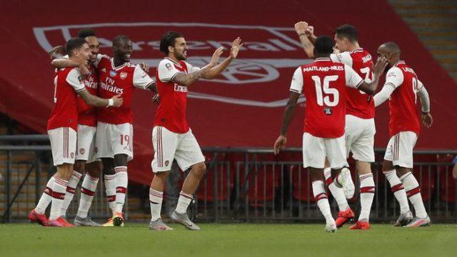 Dihantam Arsenal 2-0, Manchester City Gagal Mempertahankan Trofi Piala FA
