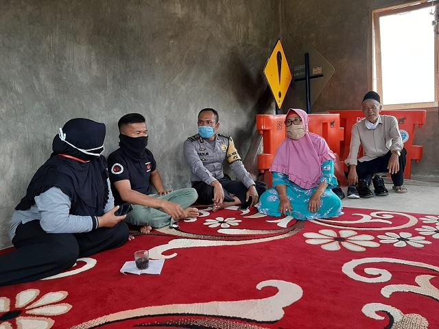 Polsekta Solok Sosialisasikan Operasi Patuh Singgalang 2020 di Kampung Tangguh Negeri IX