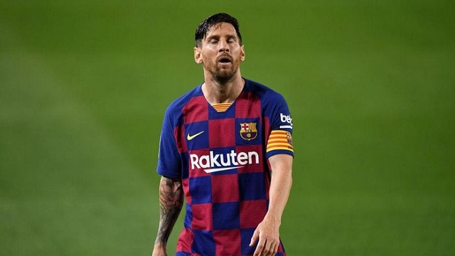Lionel Messi Pergi dari Barcelona ?