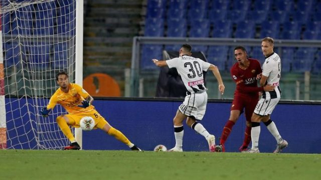AS Roma Kembali Takluk 0-2, Kini dari Udinese