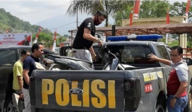 Ditangkap di Padang Panjang, Pelaku Curanmor beraksi di Solok