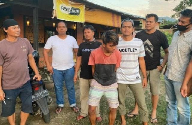 Satreskrim Polresta Padang Amankan Pelaku Jambret