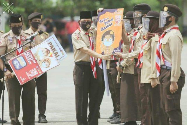 Pramuka Kota Padang Sosialisasikan Perda AKB