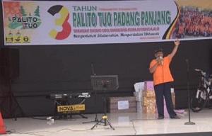 Komunitas Palito Tuo, Ingin Sinari Padang Panjang