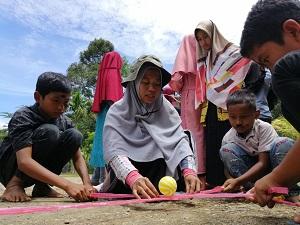 Merajut Senyum Anak Yatim dan Dhuafa di Nagari Tanjuang Balik Sumiso, Tigo Lurah