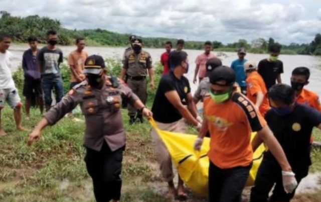 Warga Solsel Yang Hanyut Ditemukan di Batang Hari Dharmasraya