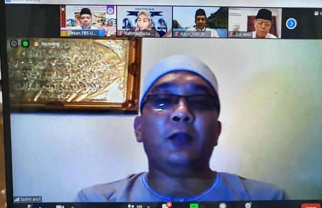 Subuh Mubaraqah UNP, Penceramahnya dari Kanwil Kemenag Riau