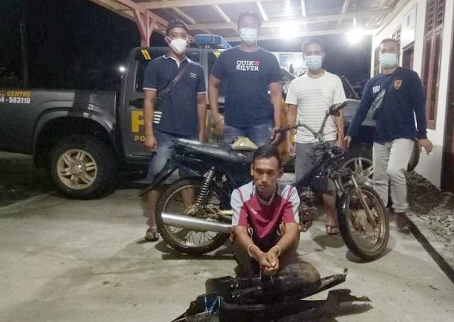Beraksi di Dharmasraya, Pelaku Curanmor Asal Bungo-Jambi Ditangkap Polisi
