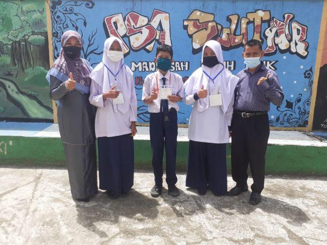 Ikuti KSMO, 3 Siswa MTsS PSA Sulit Air Melaju ke Tingkat Nasional