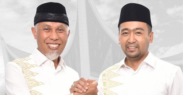 Sah, KPU Menetapkan Mahyeldi-Audy Sebagai Gubernur Sumbar