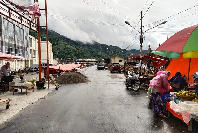 Jalan Lingkar Pasar Padang Panjang Akan Pusat Kuliner Pagi